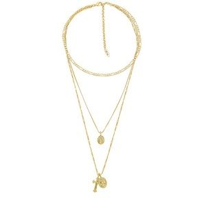 Luv AJ x SABO LUXE Isidore Cross Charm Necklace